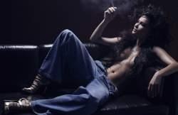 Glint jeans by Michel Perez Photographe